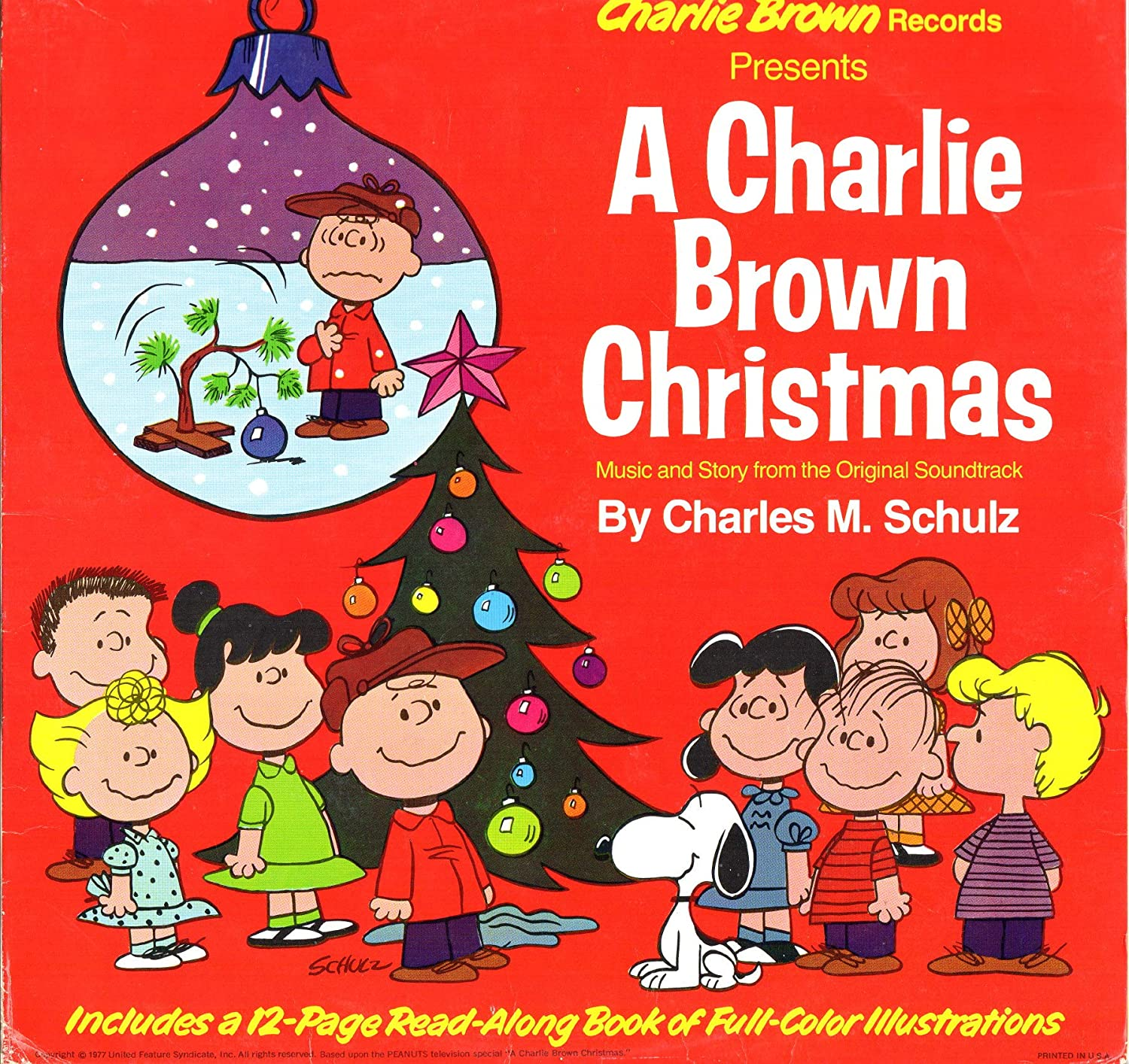 A Charlie Brown Christmas Book.A Charlie Brown Christmas Music Story From The Originial Soundtrack By Charles M Schulz