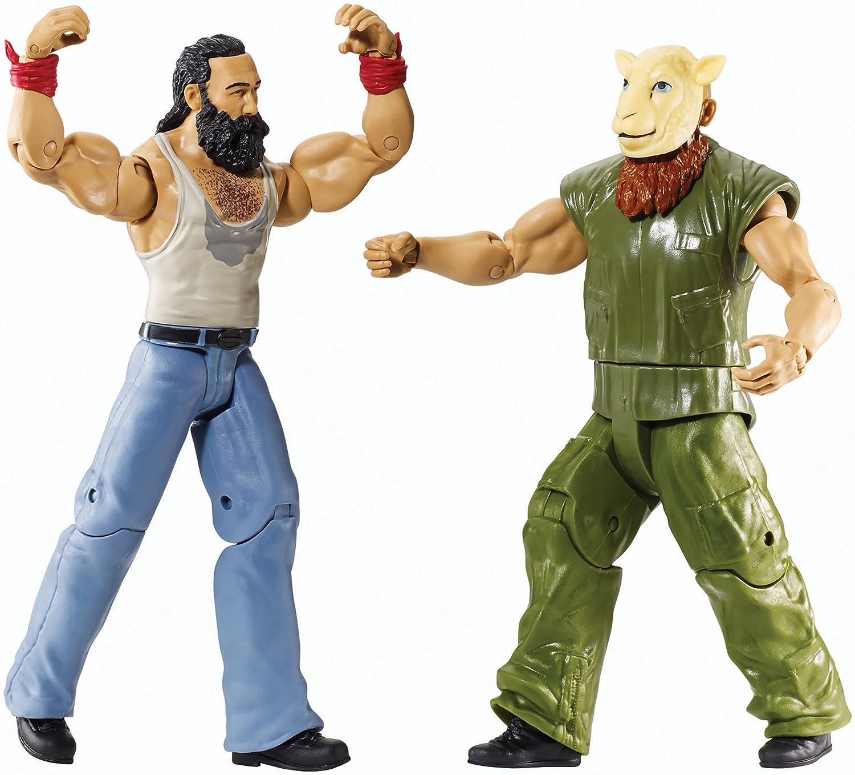 LUKE HARPER y ERICK ROWAN CON MÁSCARA OVEJA BATALLA PACK SERIES 31 - EN STOCK: Amazon.es: Juguetes y juegos