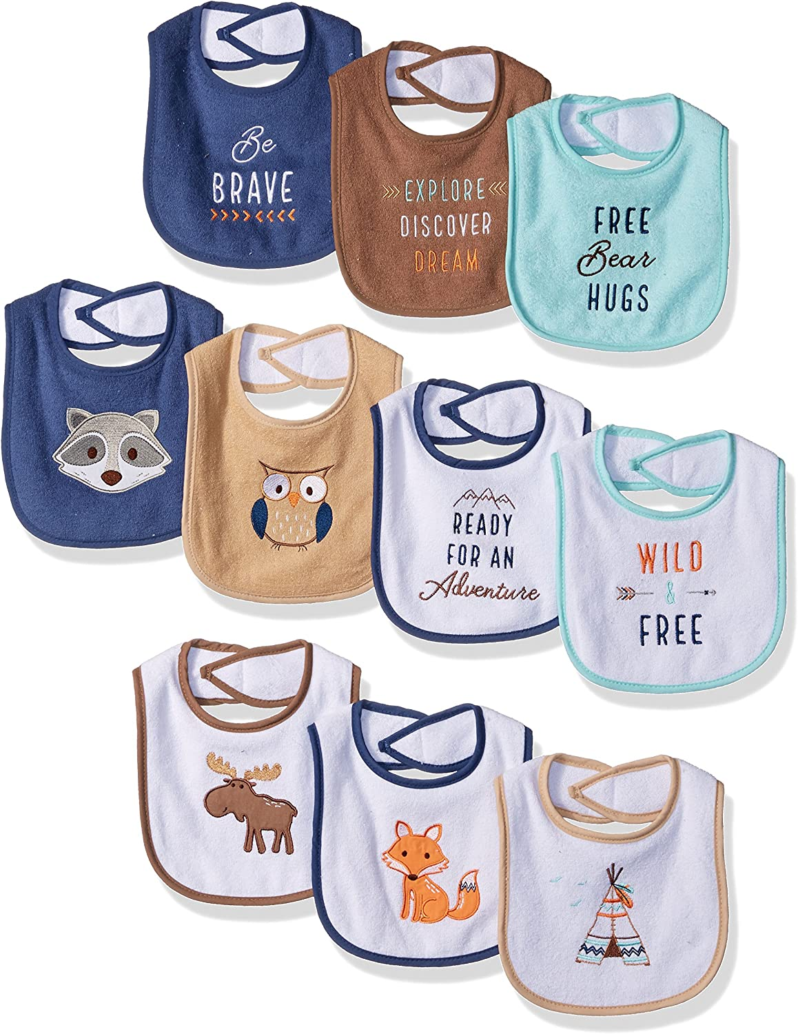 The Best Touch By Nature Bibs