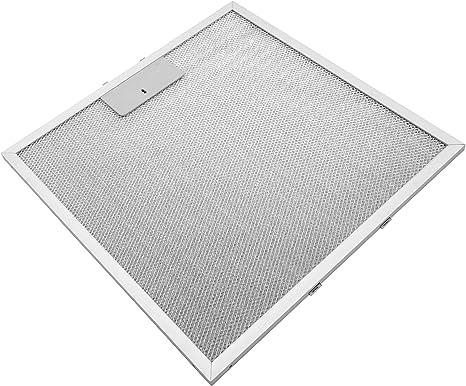 vhbw Filtro permanente metálico para grasa 32 x 32 x 0,85cm adecuado para Universal, Amana, Bauknecht, Elica, Ignis, Ikea campana extractora metal: Amazon.es: Grandes electrodomésticos