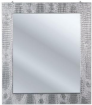Großartig Amazon.de: Kare 72426 Rockstar Spiegel Silber 80 x 70 cm MC02