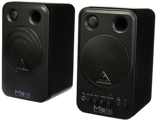 2 opinioni per Behringer MS16 Coppia Monitor Audio Professionale Attivi 16w