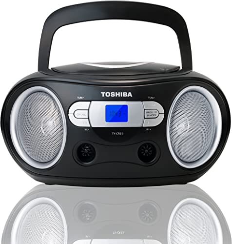 Toshiba TY-CRS9 Portable CD Boombox with AM/FM Stereo