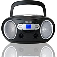 Toshiba TY-CRS9 Portable MP3/CD Boombox with AM/FM Stereo USB SD & AUX Inputs