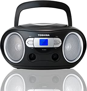 Toshiba TY-CRS9 Portable CD Boombox with AM/FM Stereo and Aux Input