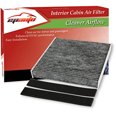 EPAuto CP140 (CF10140) Replacement for Nissan/Infiniti/Mitsubishi Premium Cabin Air Filter includes Activated Carbon: Automotive [5Bkhe0417557]