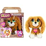 Rescue Runts Spaniel Plush Dog, White/Brown