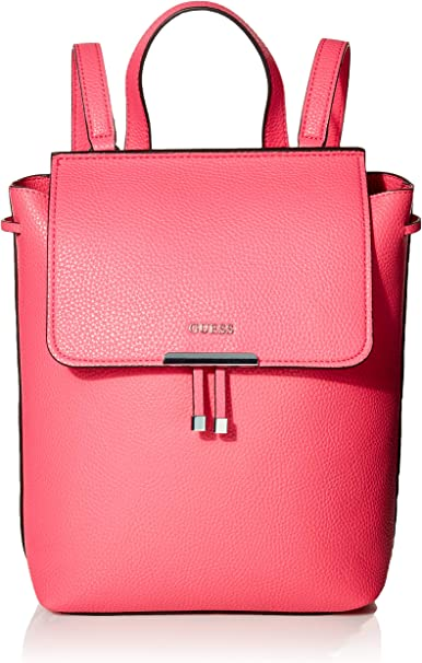 Guess Varsity Pop Sac à dos double face, Rose (fuchsia