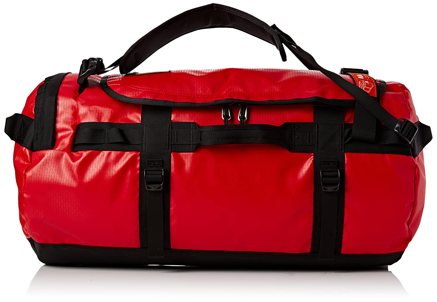 The North Face Base Camp Duffel, TNF Red Black, One Size