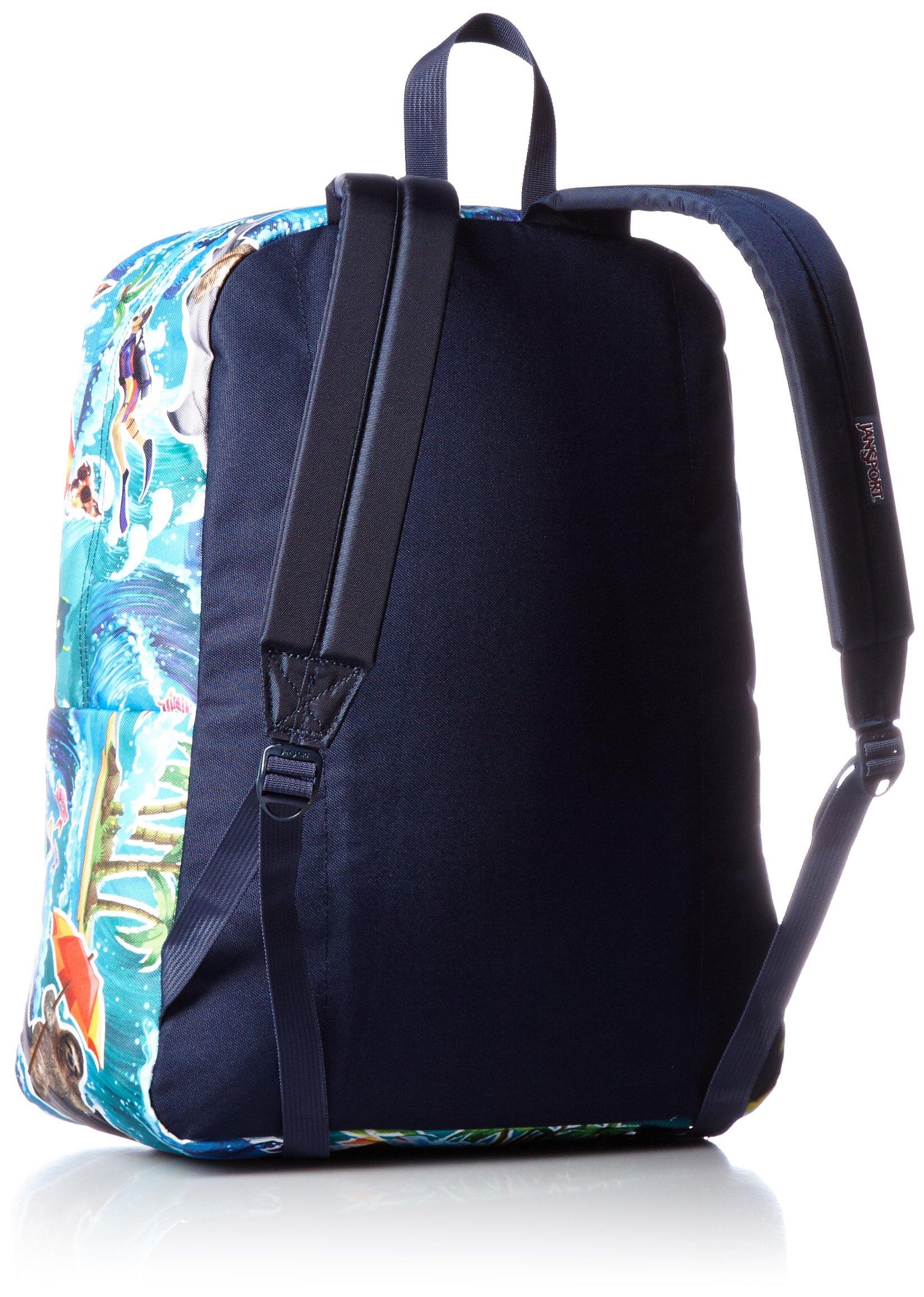 Jansport Superbreak Backpack Multi Wet Sloth- Fenix Toulouse Handball 0ddb0642fc409