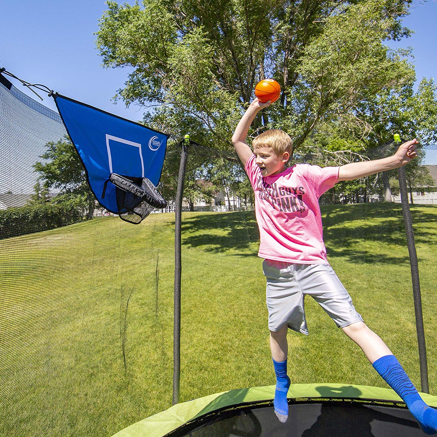 NEW Skywalker Trampolines Basketball Game (SPECIAL EDITION)