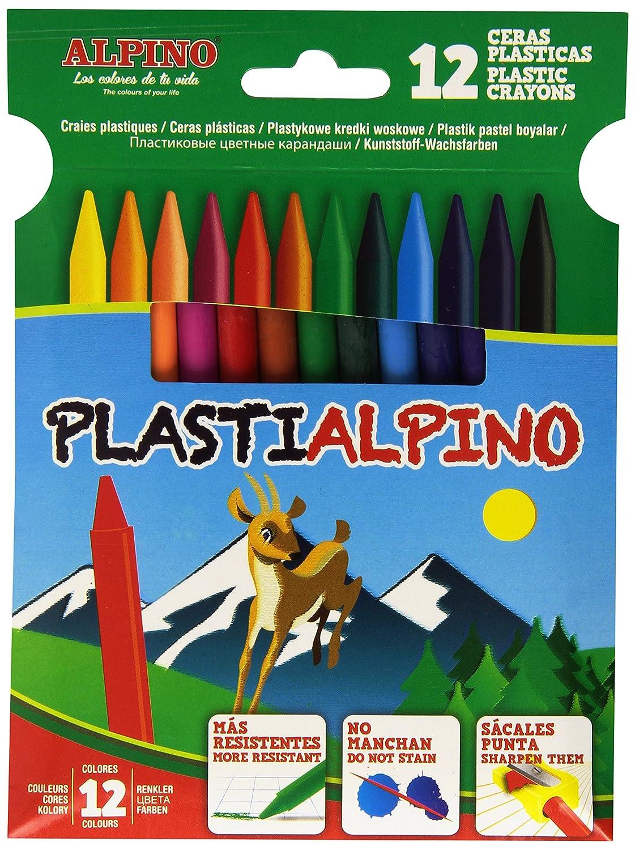 Alpino - Estuche con 12 ceras PA000012