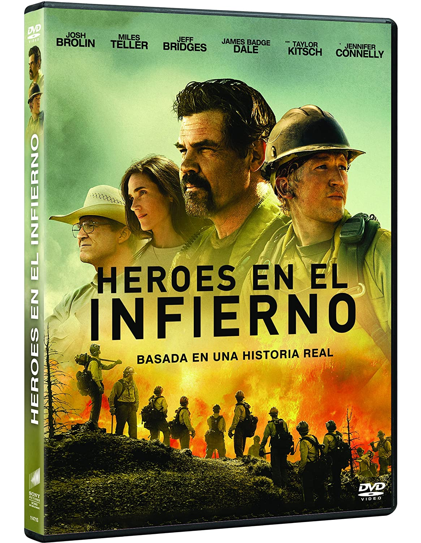 Heroes En El Infierno Dvd Amazon Es Josh Brolin Miles Teller Jeff Bridges Joseph Kosinski Josh Brolin Miles Teller Black Label Media Cine Y Series Tv