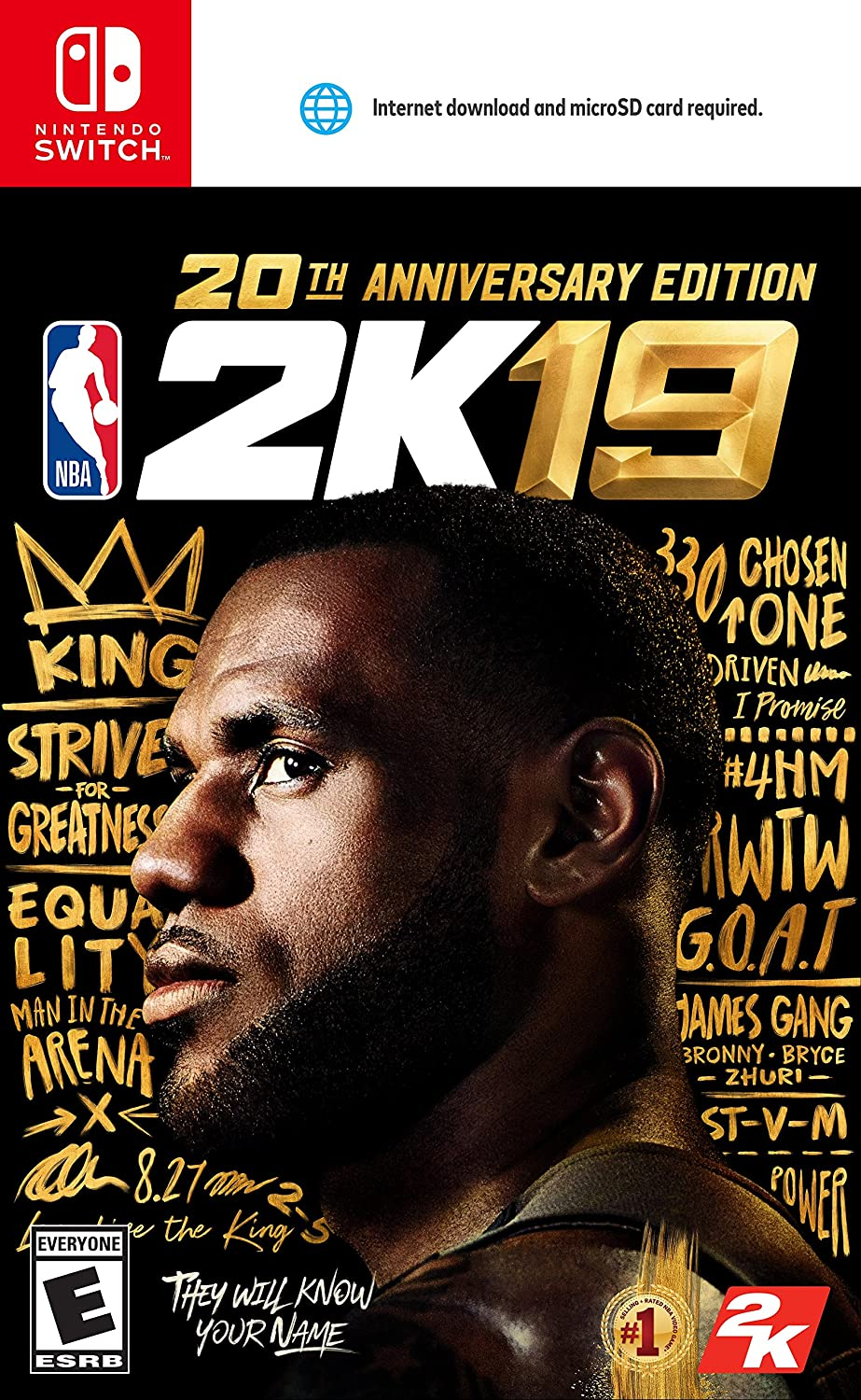 NBA 2K19 - 20th Anniversary Edition for Nintendo Swith USA: Amazon ...