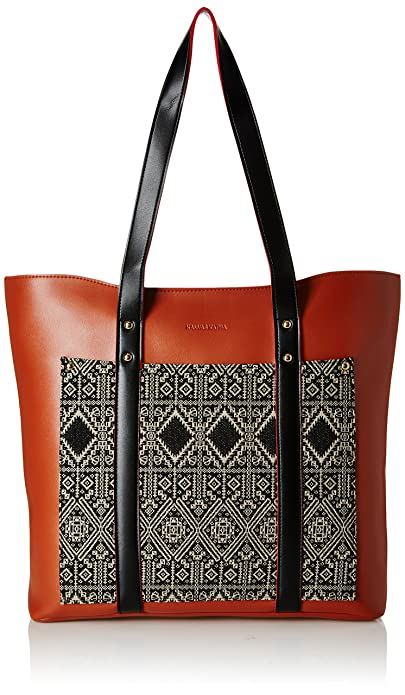 32412e23da1c8 Image Unavailable. Image not available for. Colour  Kanvas Katha Women s  Tote Bag ...