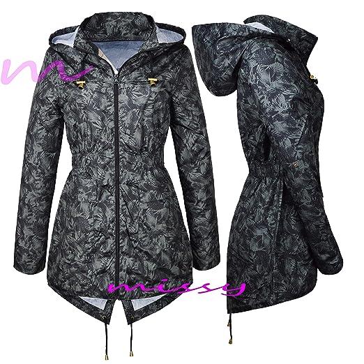 ebcd6061da078 MISSY - Manteau imperméable - Parka - Femme - multicolore - 36  Amazon.fr  Vêtements  et accessoires