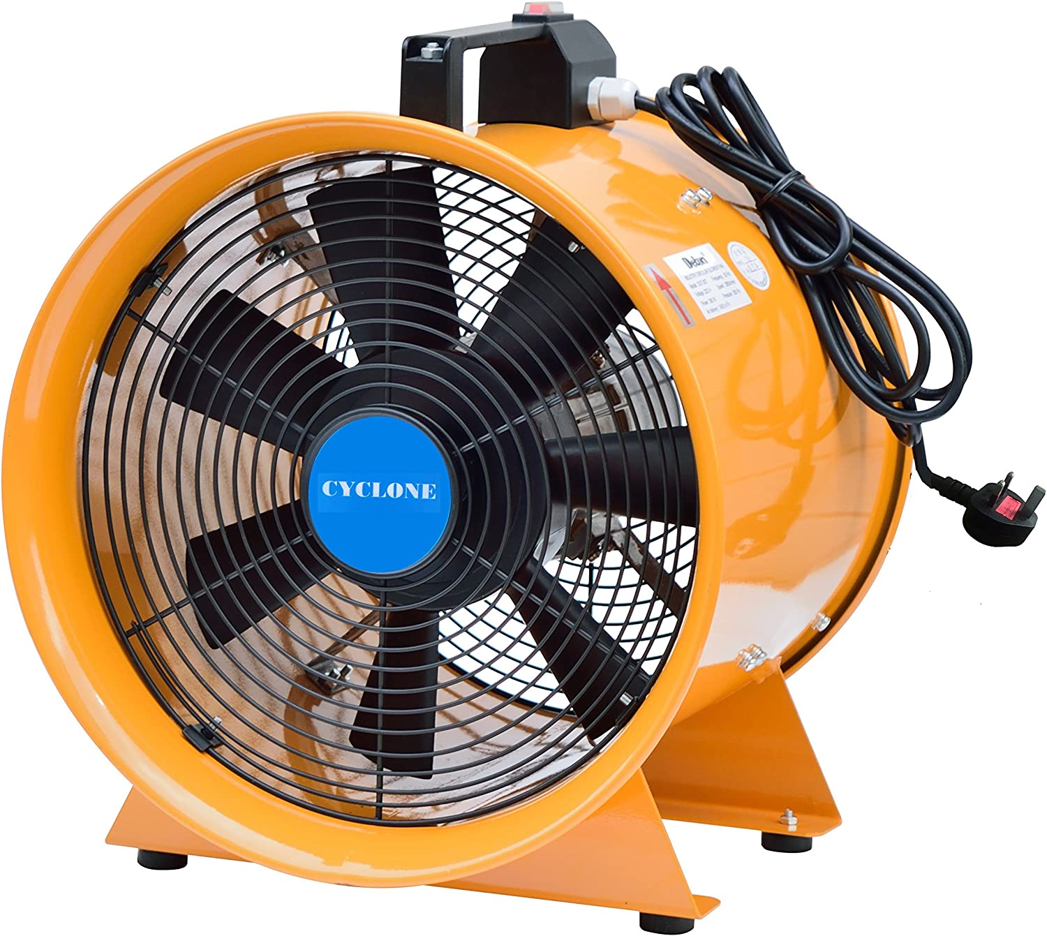 Cyclone 200 mm Dust FUME Extractor: Amazon.es: Grandes ...