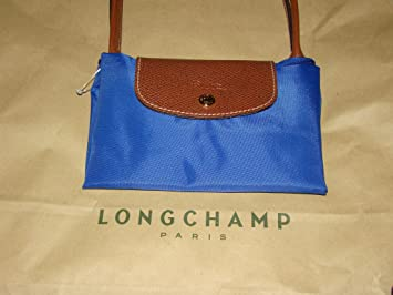 Popular Portable Longchamp Eiffel Tower Bags Graphite Blue
