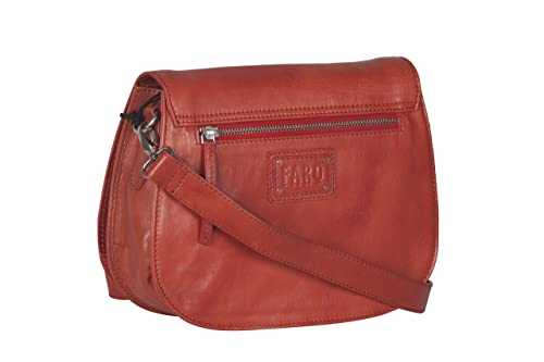 0ac6da3b87f487 Faro for Chokore Cara Women's Brick Red Genuine Leather Solid Sling Bag:  Amazon.in: Shoes & Handbags
