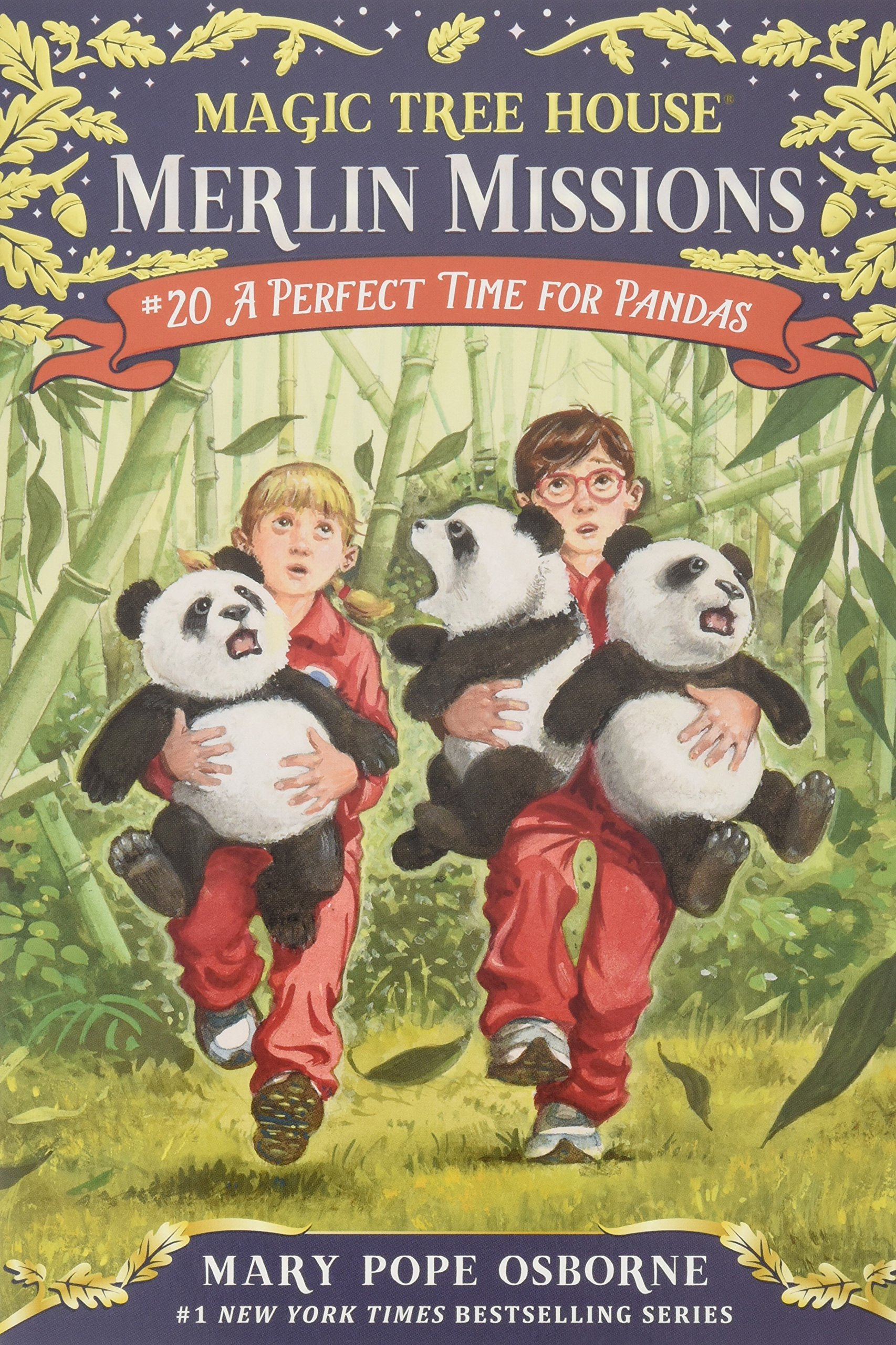 Author Of Magic Treehouse Books Part - 30: Amazon.com: A Perfect Time For Pandas (Magic Tree House (R) Merlin Mission)  (9780375867989): Mary Pope Osborne, Sal Murdocca: Books
