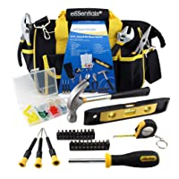 Deals on Great Neck Essentials Household Tool Kit Yellow 32