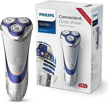 Philips Afeitadora eléctrica en seco SW3700/07 Máquina de Afeitar ...