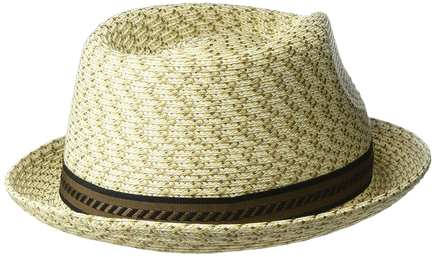 Bailey Men s Mannes Braided Fedora Trilby Hat  Amazon.co.uk  Clothing 451258fb6868