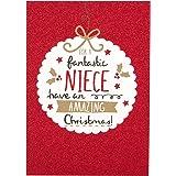 Hallmark Christmas Card To Niece 'Everything You Wish For' - Medium