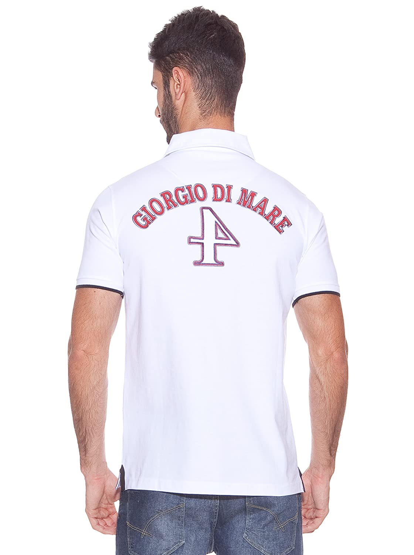 Giorgio Di Mare Polo Rancho Cucamonga Blanco L: Amazon.es: Ropa y ...