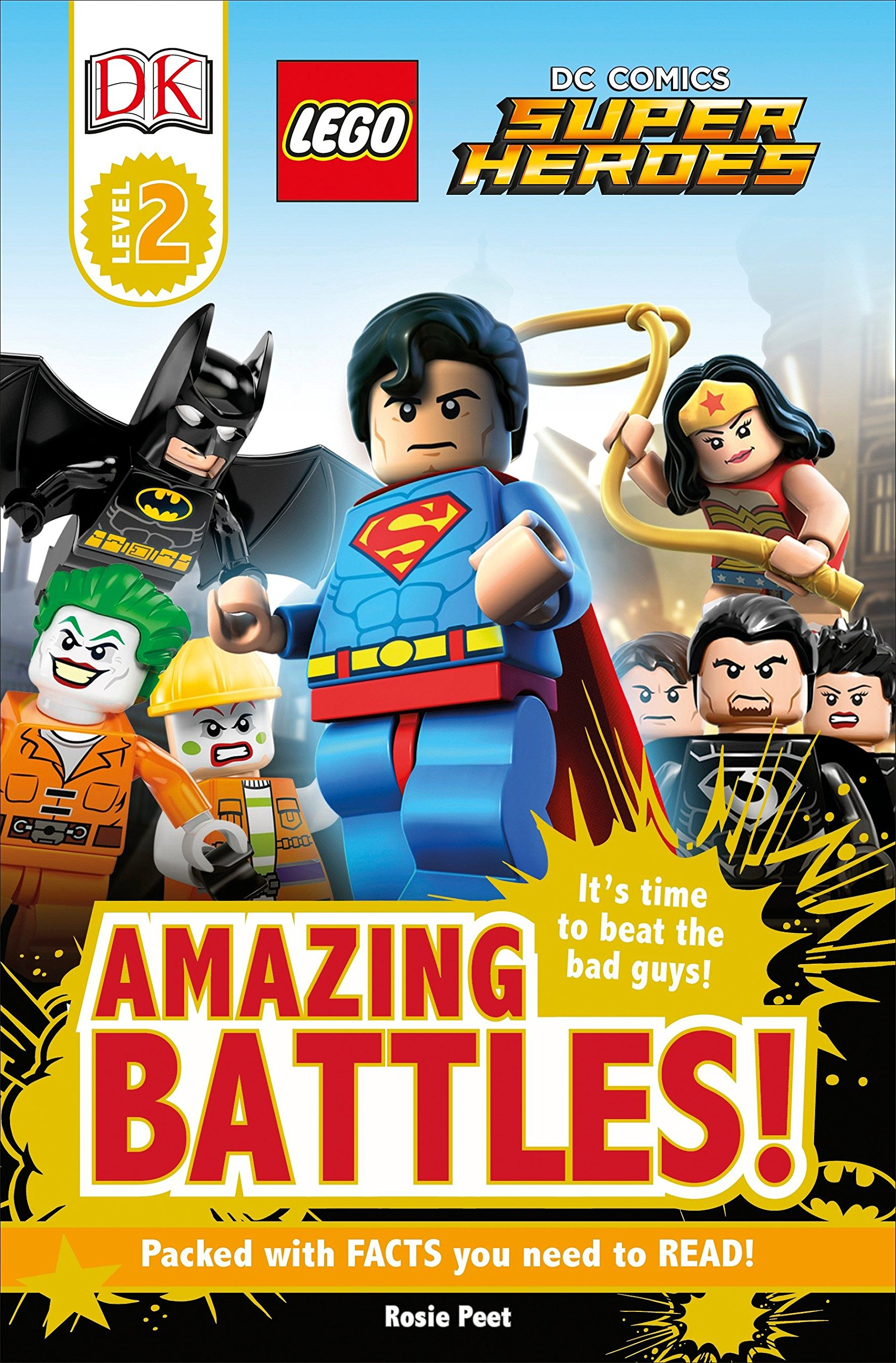 Download DK Readers L2: LEGO DC Comics Super Heroes: Amazing Battles! ebook