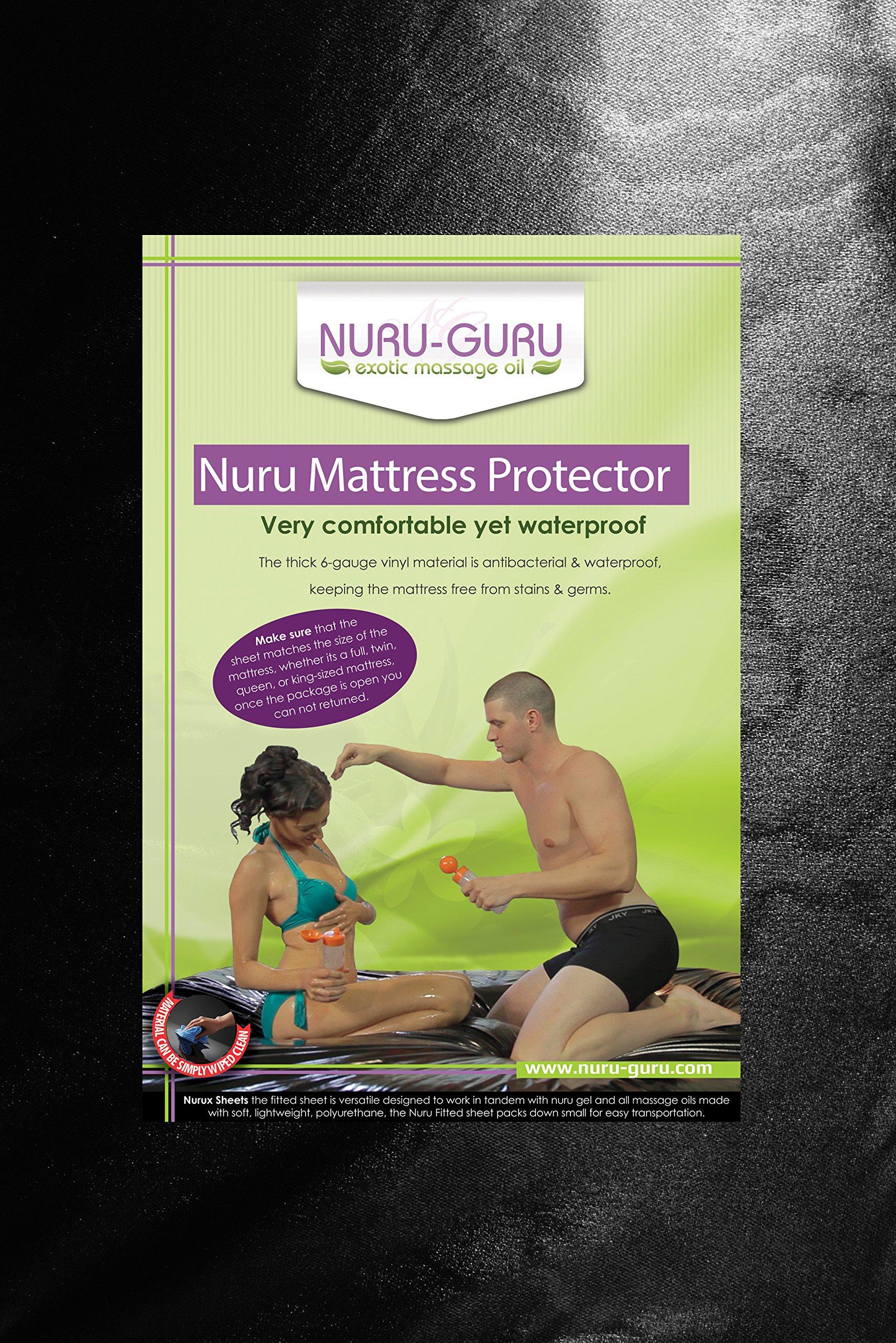 Nuru Sheets Waterproof (Queen) (Grey)