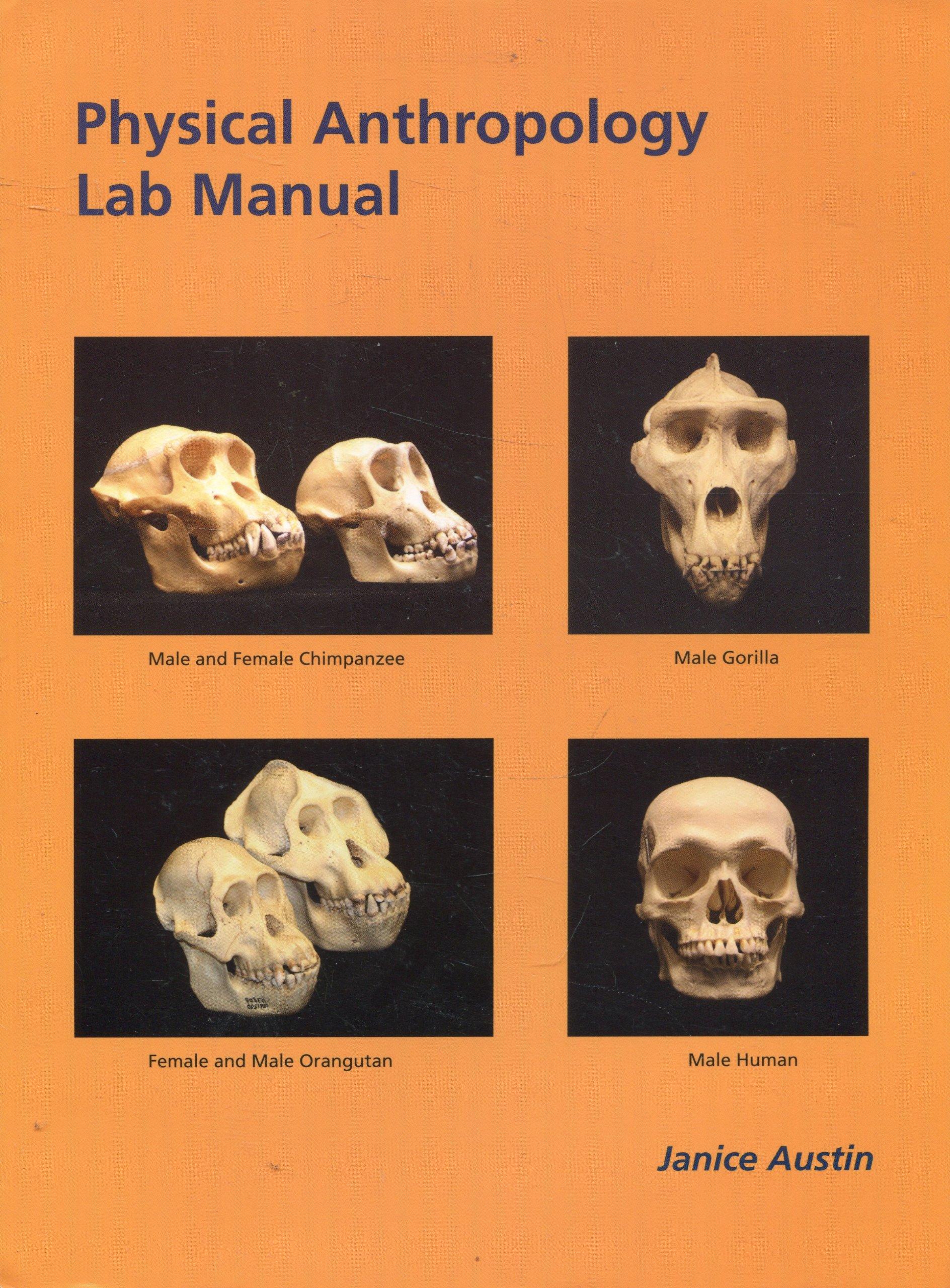 Physical Anthropology Lab Manual: Janice Austin: 9780972441926: Amazon.com:  Books