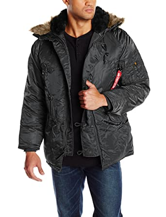 c60a8b895257b Image not available for. Color  Alpha Industries Men s N-3B Parka Jacket