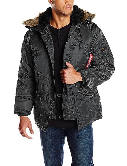 30e704a46 Alpha Industries Men's N-3B Parka Coat