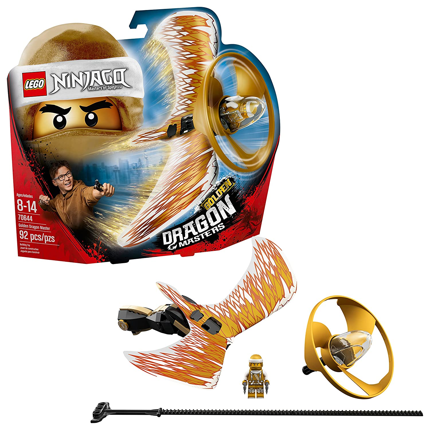 LEGO NINJAGO Golden Dragon Master 70644 Building Kit (92 Piece) 6212736