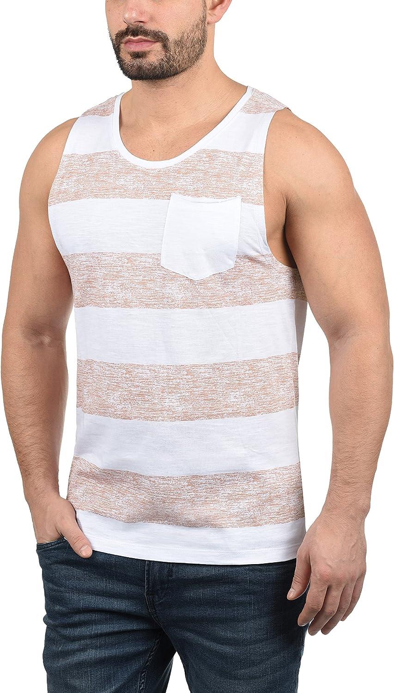 BLEND Viva Camiseta B/ásica De Tirantes Tanque Tank Top para Hombre con Cuello Redondo