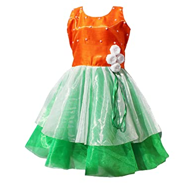 2718e7af4 MVD Fashion Tricolor dress for Girls: Amazon.in: Clothing & Accessories