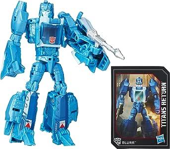 Playskool Heroes Transformers Generations Titans Return Titan Master Hyperfire and Blurr