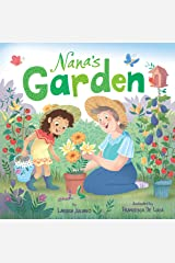 Nana's Garden: A Lift-the-Flap Book (Clever Family Stories) Board book