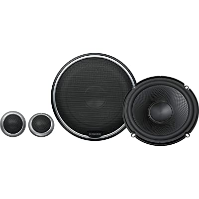 "Kenwood KFC-P710PS 560W Max (160W RMS) 6.5"" Performance Series 2-Way Component Car Speakers"
