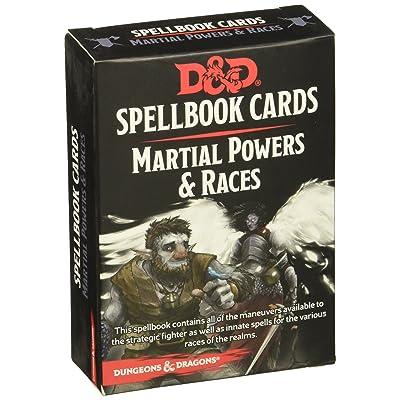 73921 D&D: Spellbook Cards: Martial Deck: Toys & Games