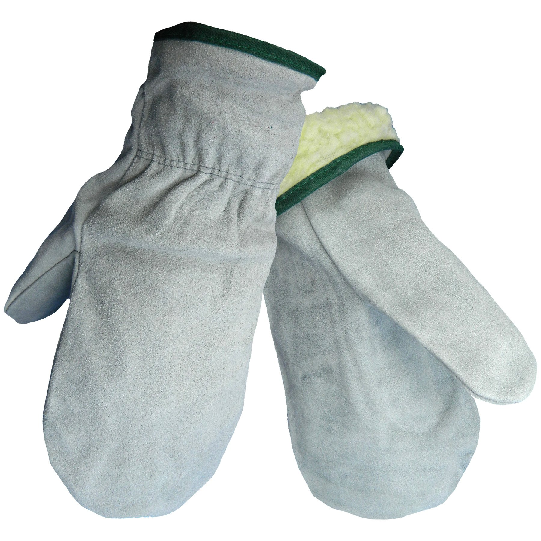 Global Glove 51MIT Split Cowhide Pile Lining Mitten, Extra Large (Case of 72)