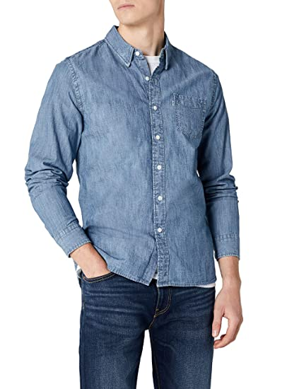 e0dd7069655 Levi s Men s Sunset 1 Pocket Shirt Casual  Levis  Amazon.co.uk  Clothing