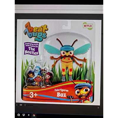 Beat Bugs Fab Figures BAZ Action Figure: Toys & Games