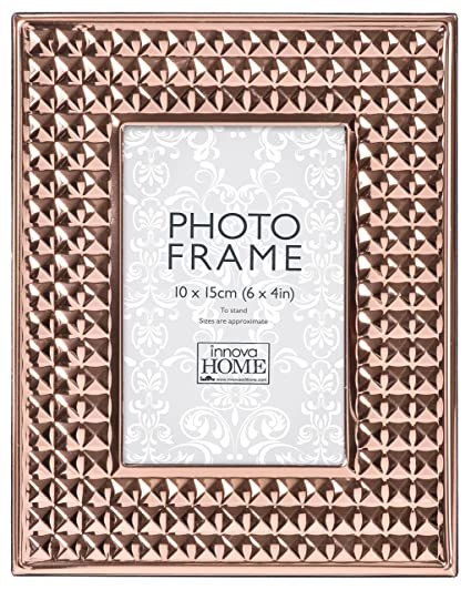 15b2a1d7cc3 Innova Beautiful And Chic Photo Frame With Pyramid Pattern