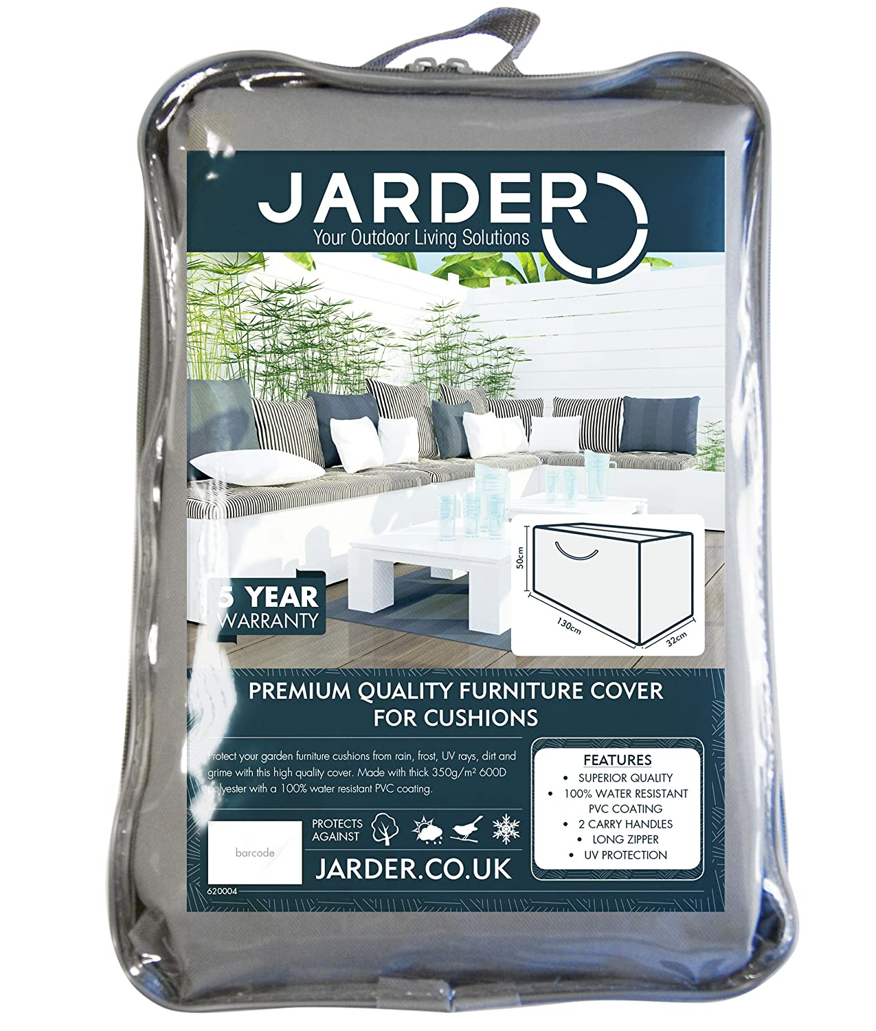 Jarder Garden Cushion Storage Bag, Superior Quality, 100% Water Resistant:  Amazon.co.uk: Garden U0026 Outdoors Part 74
