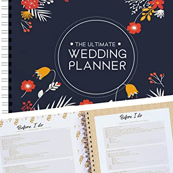 amazon wedding planning organiser and complete checklist 80 pages