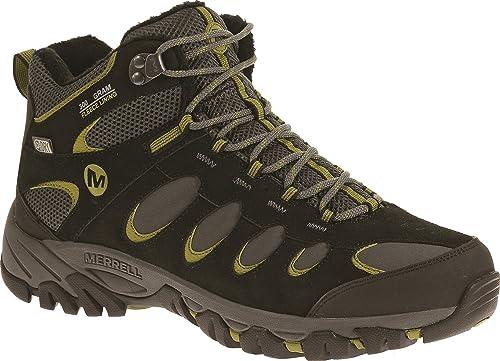 b6c53de500a Merrell Men's Ridgepass Thermo Mid Waterproof Boots