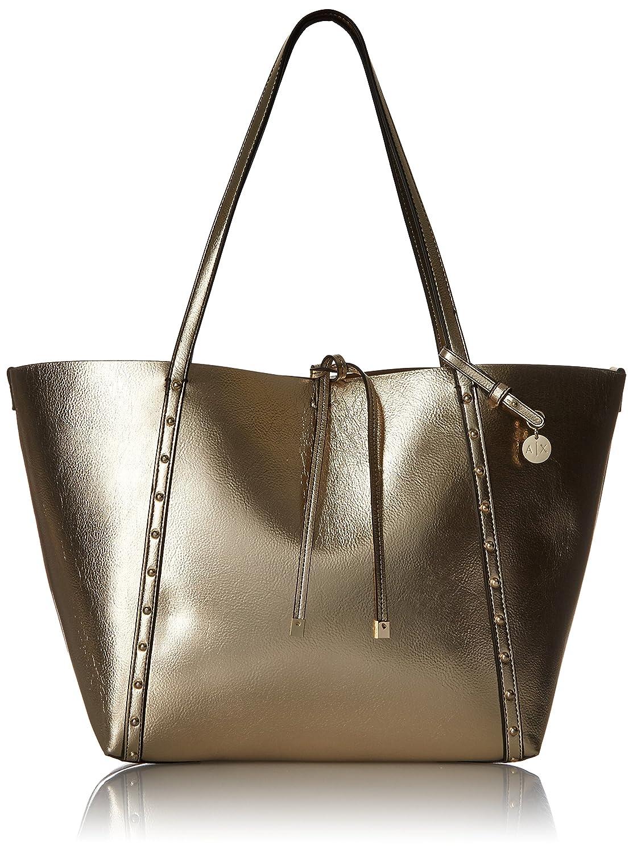 2fcf929d5788f3 Amazon.com: A|X Armani Exchange Metallic Medium Tote: Clothing