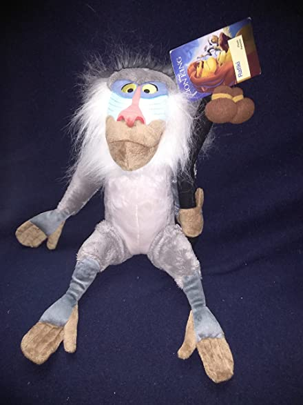 Rare Limited Disney Store Plush Rafiki the Monkey From Lion King New With Tags 15